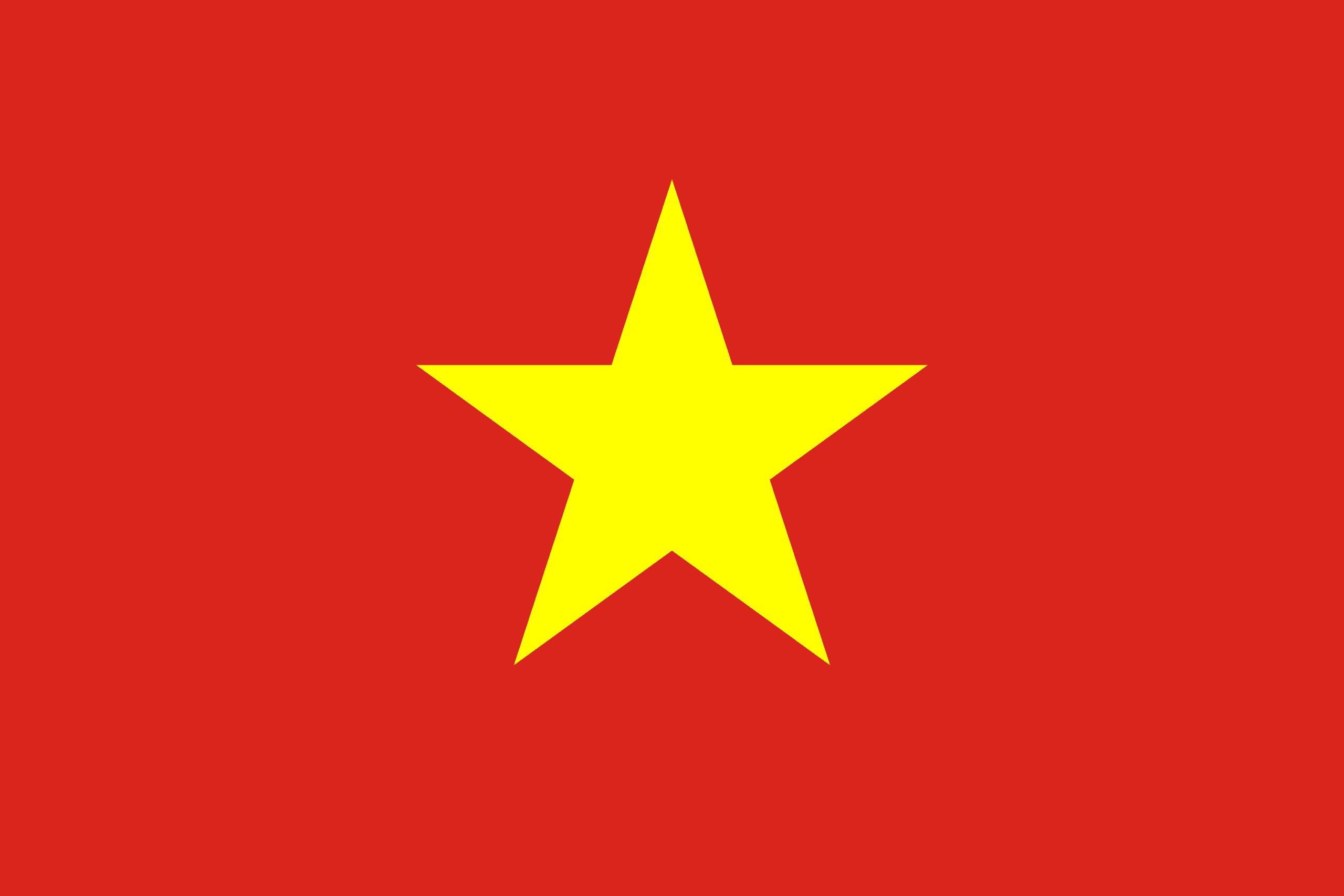 Vietnam Bayrağı 🇻🇳 – Ülke bayrakları